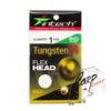 Разборной груз Intech Tungsten 74 Gold - 0-7