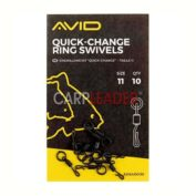 Быстросъём Avid Carp Quick Change Ring Swivel Size 11