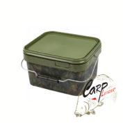Ведро для прикормки пластиковое Gardner Square Camo Buckets Small 2.5 litre