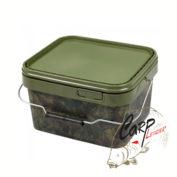 Ведро для прикормки пластиковое Gardner Square Camo Buckets Small 5 litre