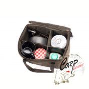 Сумка Nash Logix Deluxe Brew Kit Bag для посуды с термоотсеком