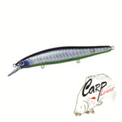 Воблер Daiwa Steez Minnow 125SP-SR Ghost Herring