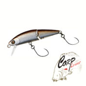 Воблер Daiwa Dr Minnow Joint 5F Presso Tune Reaction Silver