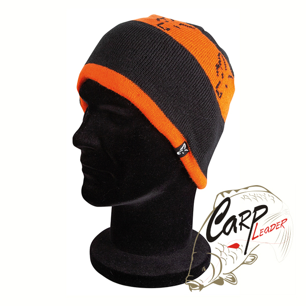 Шапка Fox Black & Orange Beanie