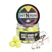 Бойлы плав. Dynamite Baits 15 мм. Hit N Run Yellow
