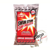 Пеллетс Dynamite Baits 900 гр. Swim Stim Amino Original 2 мм.