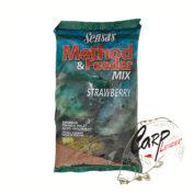 Прикормка Sensas 3000 Method Feeder Strawberry 1 кг.