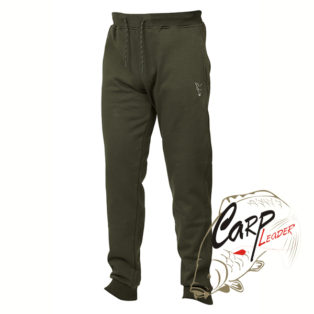 Брюки Fox Collection Green & Silver Joggers Large