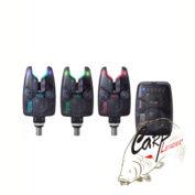 Сигнализаторы поклёвки с пейджером Flajzar Neon TX3 3+1