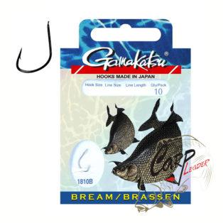 Готовые поводки Gamakatsu Hook BKD-1810B Bream №10 леска 0.16 100 см.