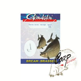 Готовые поводки Gamakatsu Hook BKD-1310N Bream №12 леска 0.14 70 см.