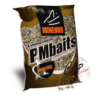 Прикормка зерновая Миненко PMbaits Big Pack Ready To Use Crushed Spod Mix Natural