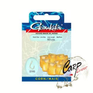 Готовые поводки Gamakatsu Hook BKG-2210G Corn №8 леска 0.22 60 см.