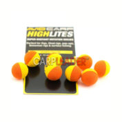 Шарик плавающий Avid Carp High Lites 10mm Yellow/Orange 8 шт