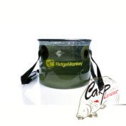 Полупрозрачное мягкое ведро Ridge Monkey Perspective Collapsible Bucket 10 litre