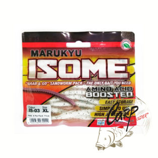 Силиконовые приманки Marukyu Power Isome L IS-03 White