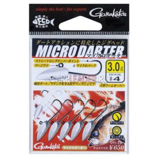 Джиг головка Gamakatsu Micro Darter