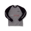 Футболка Ever Green EG Long T shirt C Type Navy/Grey - l