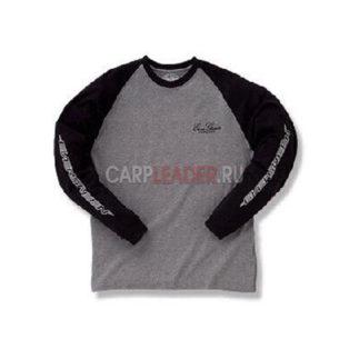 Футболка Ever Green EG Long T shirt C Type Navy/Grey