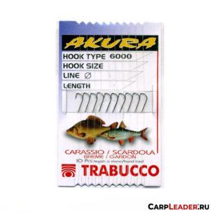 Набор крючков Trabucco Akura 6000