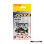 Набор крючков с поводками Trabucco Akura Carpa №04x0,25mm - 4