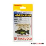 Набор крючков с поводками Trabucco Akura Mais №02x0,30mm - 2
