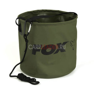 Ведро мягкое Fox Collapsible Water Bucket Large 10 Litre