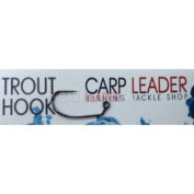 Крючки безбородые Carpleader Trout Hook Barbless TMC 403BLJ 10 шт.