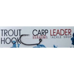 Крючки безбородые Carpleader Trout Hook Barbless TMC 403BLJ 10 шт.