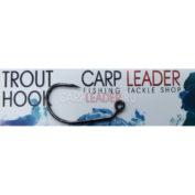Крючки безбородые Carpleader Trout Hook Barbless Anrex FW551 10 шт.