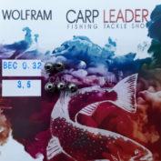 Головки вольфрамовые CarpLeader с вырезом Natural 3,5 мм. 0,32 гр. 5 шт