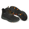 Ботинки Fox Collection Black & Orange Mid Boots - 45