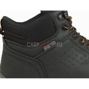 Ботинки Fox Collection Black & Orange Mid Boots