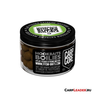 Бойлы насадочные FFEM Super Soluble Boilies 13 mm HNV Mussel 100g