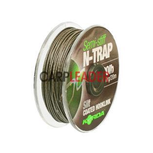Поводковый материал Korda N-Trap Semi-Stiff 20lb Silt