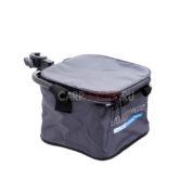 Мягкое ведро с креплением на платформу Flagman Nylon Bait Bowl Bag d 25 мм.