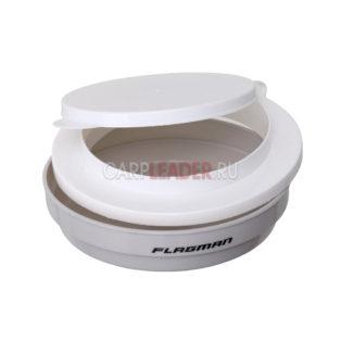 Коробка для наживки Flagman круглая 0.25 л.