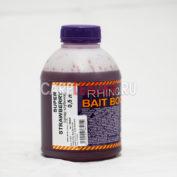 Ликвид Rhino Baits Bait Booster Liquid Food 0,5 л. Super Strawberry Супер Клубника