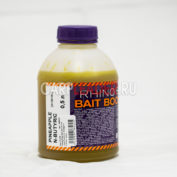 Ликвид Rhino Baits Bait Booster Liquid Food 0,5 л. Pineapple + N-Butyric Ананас