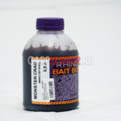 Ликвид Rhino Baits Bait Booster Liquid Food 0,5 л. Monster Crab Монстер Краб