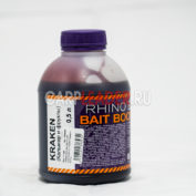 Ликвид Rhino Baits Bait Booster Liquid Food 0,5 л. Kraken Кальмар и Фрукты