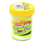 Паста форелевая Berkley Turbo Dough Glow/Chrt/White 50 гр.