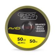 Шок лидер Avid Carp Carp Shock Tight 50lb 50м