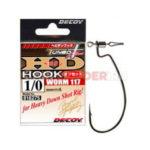 Крючок офсетный Decoy HD Hook Worm 117 для оснастки Drop-Shot - 1