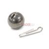 Разборной груз Intech Tungsten 74 Steel Gray - 1