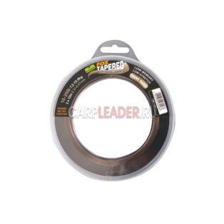 Шок лидер конусный Fox Edges Soft Tapered Leader Trans Khaki 12m x 3 0.37-0.57mm 16-35lb