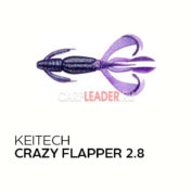 Приманка силиконовая Keitech Crazy Flapper 2.8