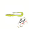 Приманка силиконовая Keitech Mad Wag Mini 3.5 - pal-01-chartreuse-red-flake