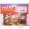 Силиконовая приманка Reins G Tail Grub 3 - 430-motor-oil-gold-flk
