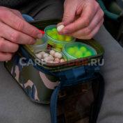 Водонепроницаемая сумка Fox Aquos Camo Bait Storage M для хранения насадок в банках